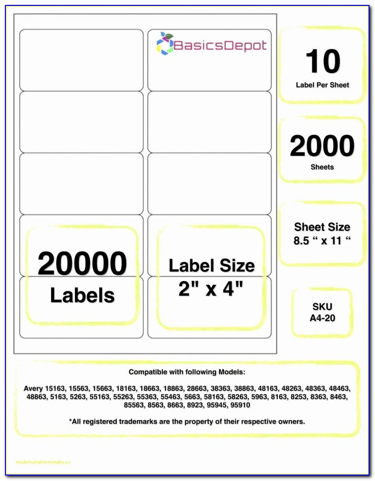 Staples Shipping Label Template