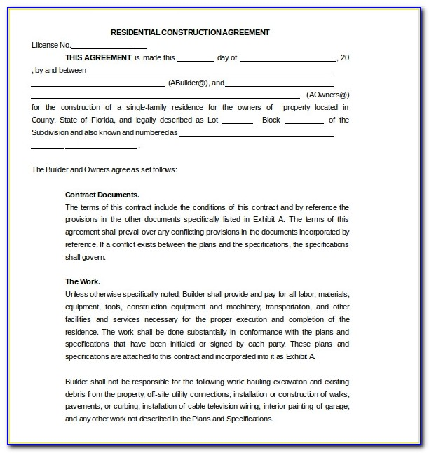Subcontractor Agreement Template Australia