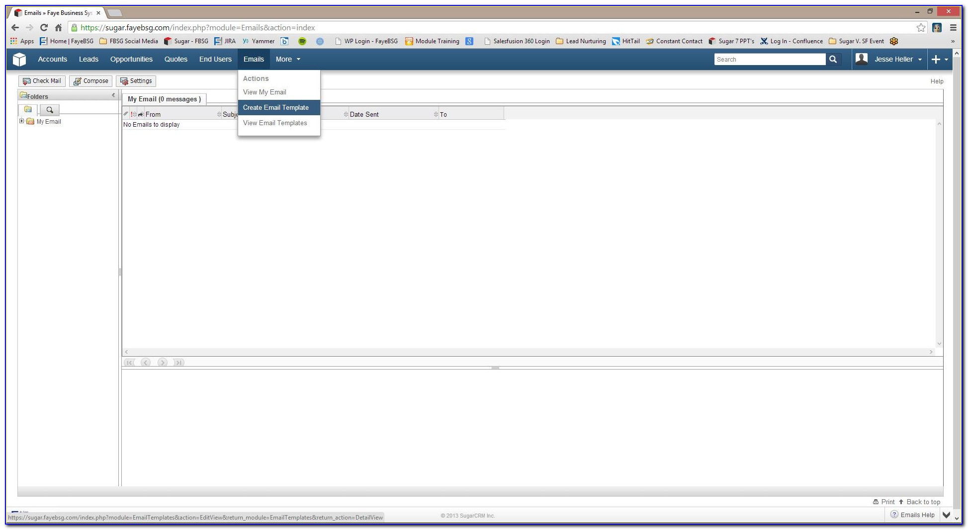 Sugarcrm Email Templates Custom Variables