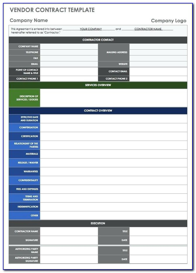 Supplier Management Database Template