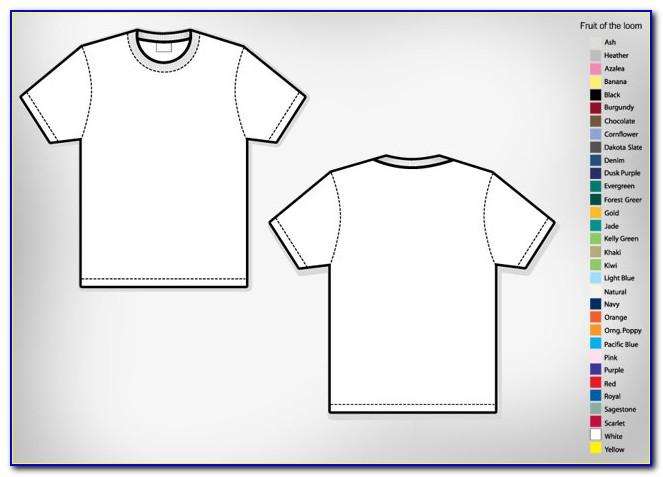 T Shirt Design Template Software