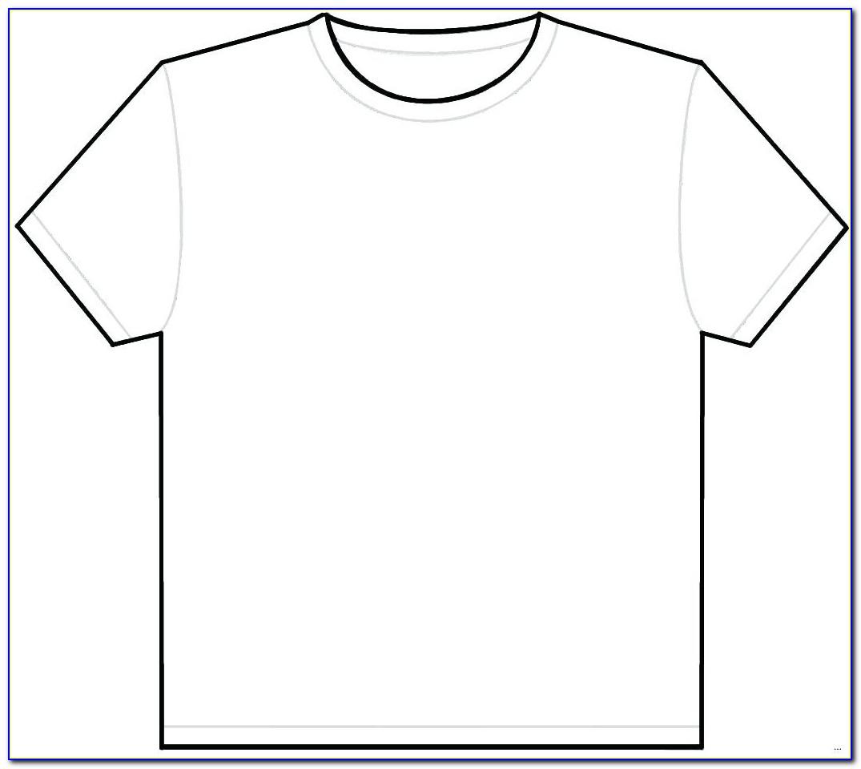 T Shirt Vector Template Illustrator