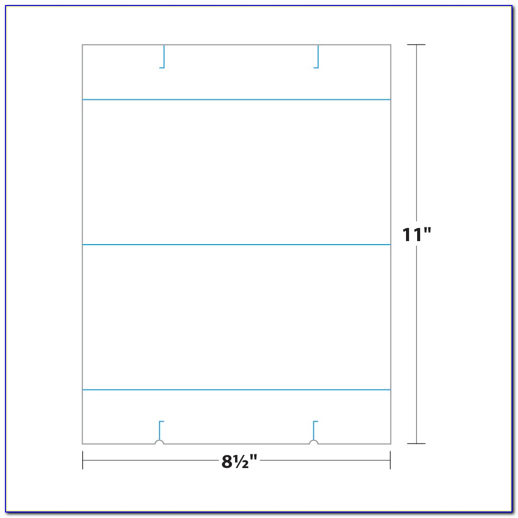 Table Tent Design Template