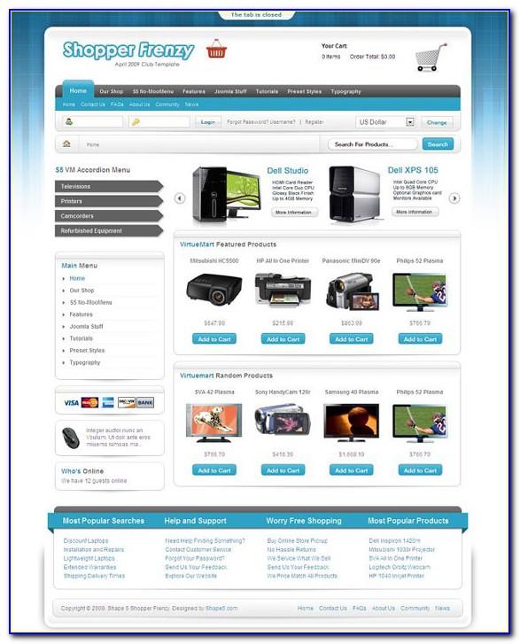 Template Ecommerce Wordpress Premium