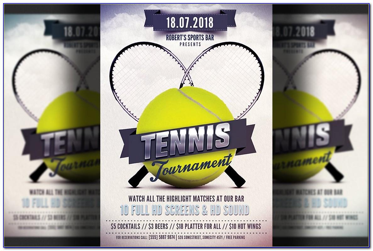 Tennis Flyers Templates Free