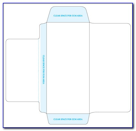Ticket Envelope Template