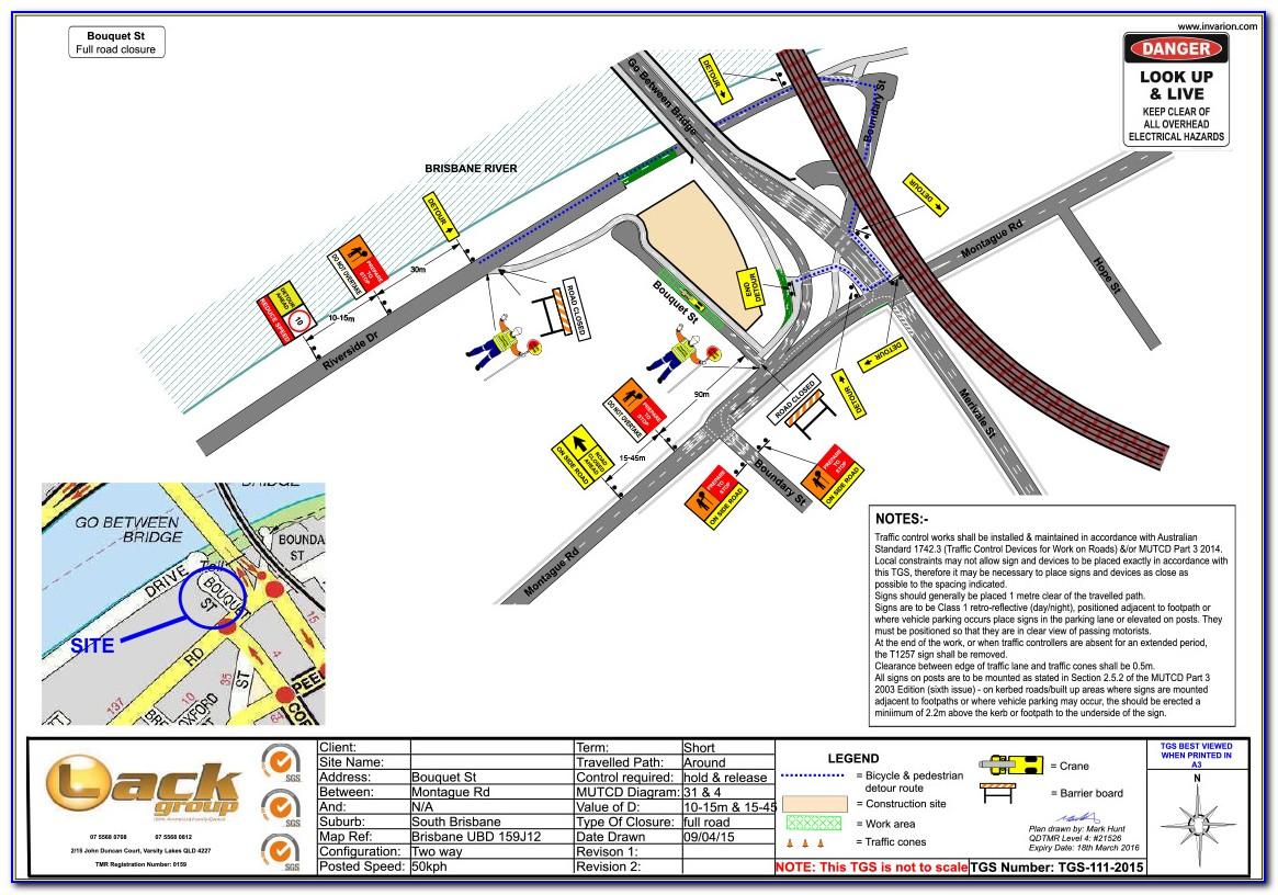 Traffic Control Plan Template Nsw