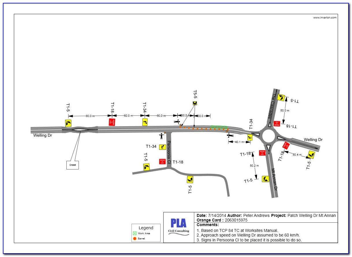 Traffic Control Plan Template Ontario