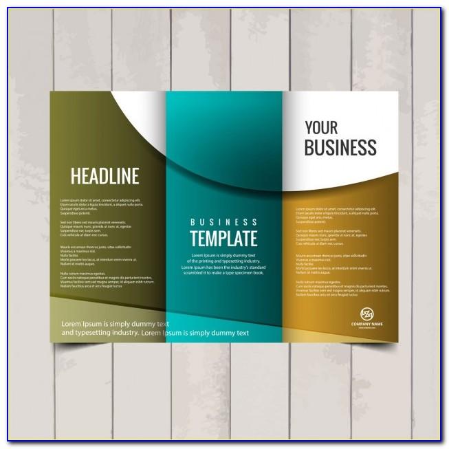 Tri Fold Brochure Design Templates Free