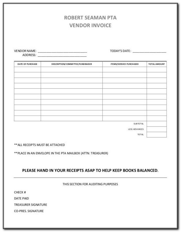 Vendor Invoice Tracker Template