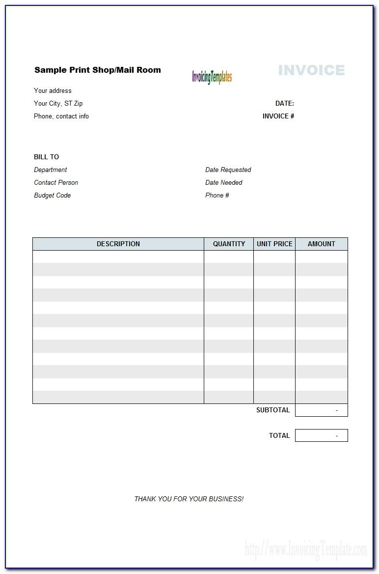 Bill Of Sale Invoice Template Top 10 Results Vendor Invoice Template