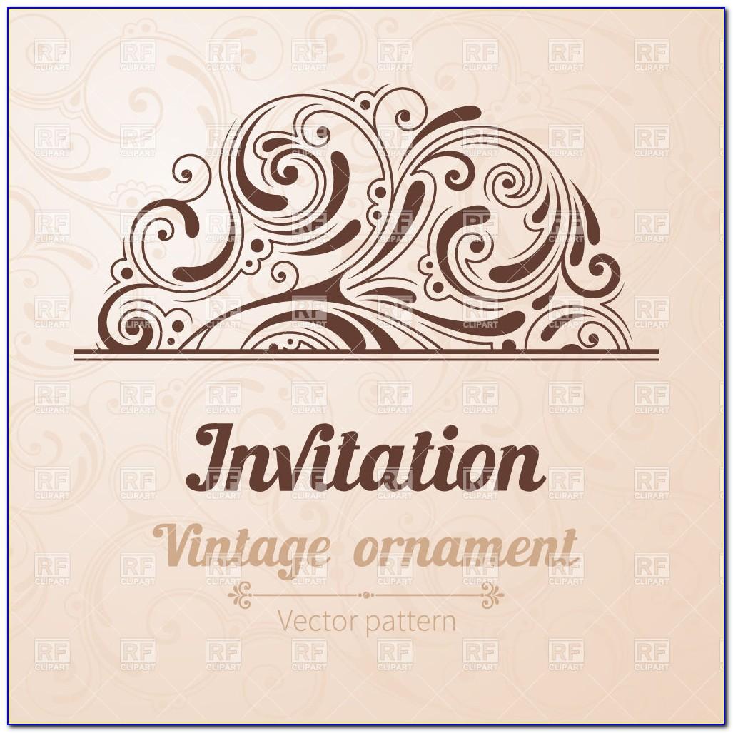 Vintage Birthday Invitation Templates Free Download