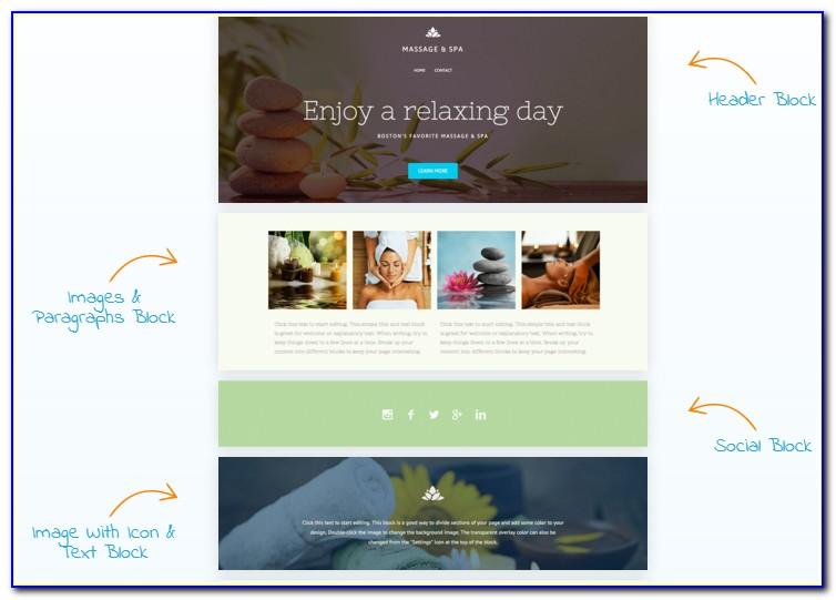 Vistaprint Website Builder Templates