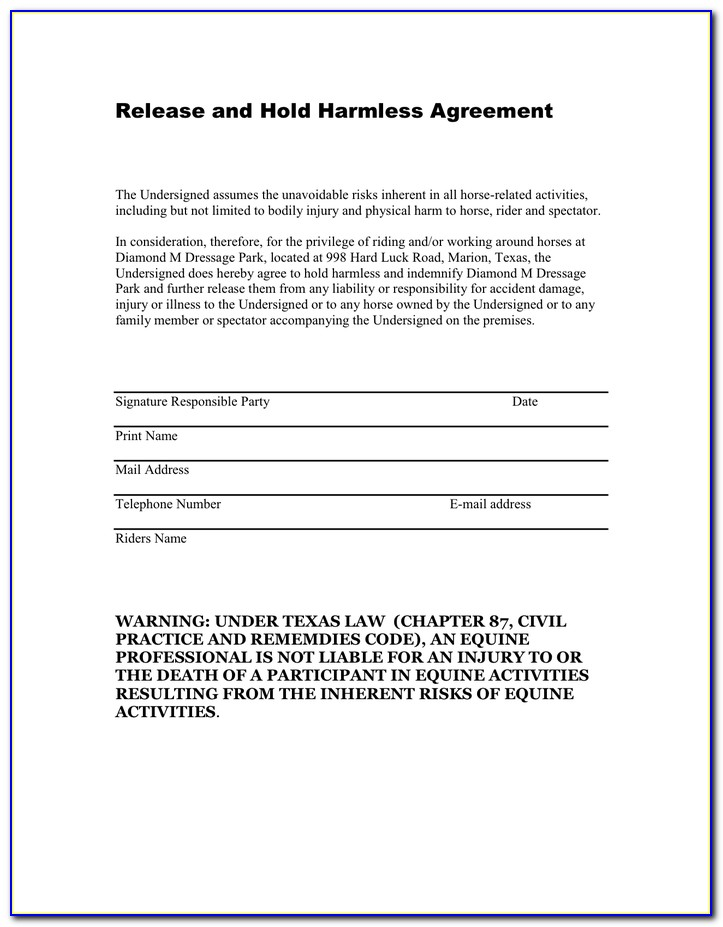 Waiver Of Non Compete Agreement Template