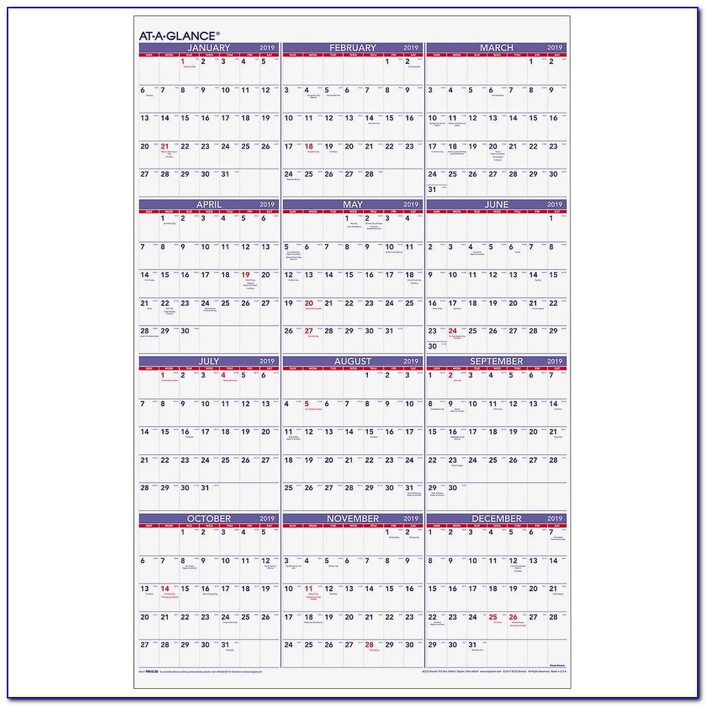 Wall Calendar Template Coreldraw