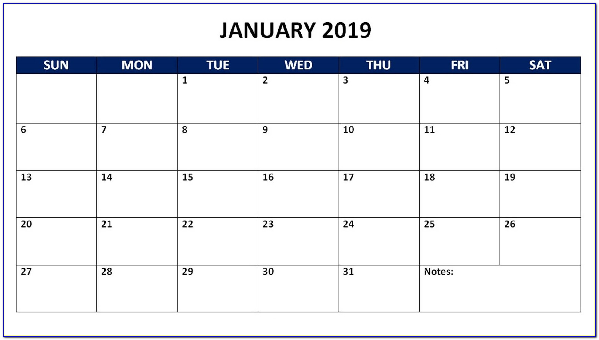 Wall Calendar Template Indesign