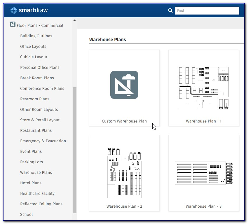 Warehouse Layout Template Visio