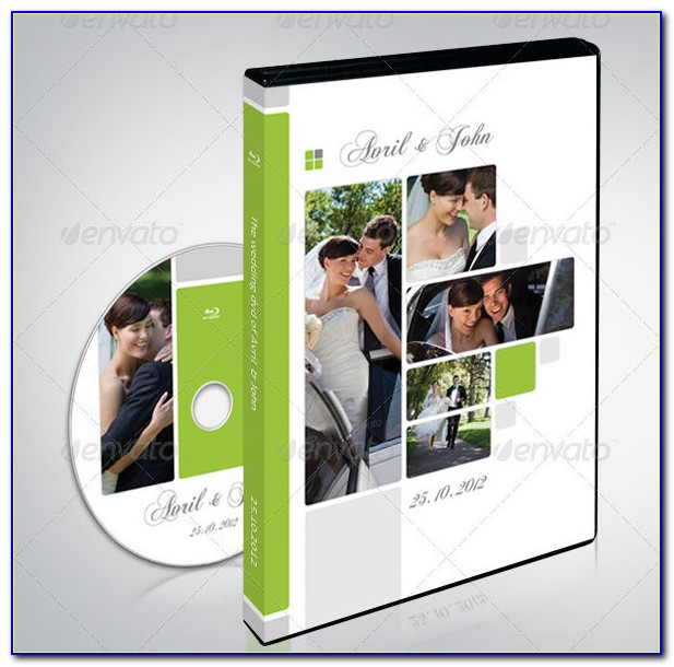 Wedding Dvd Cover Template Free