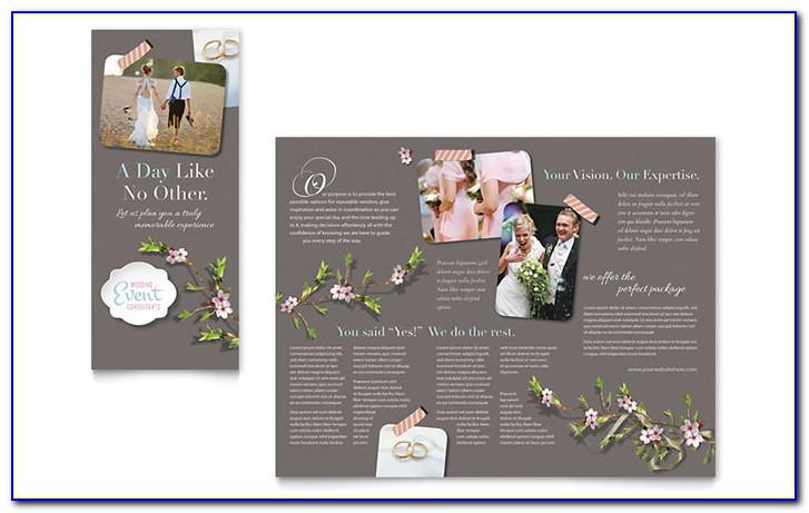Wedding & Event Planning Brochure Template