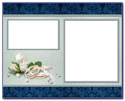 Wedding Photo Album Design Templates Adobe Photoshop