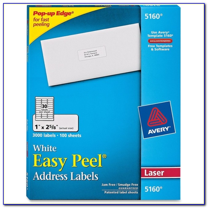 White Mailing Labels Template Staples
