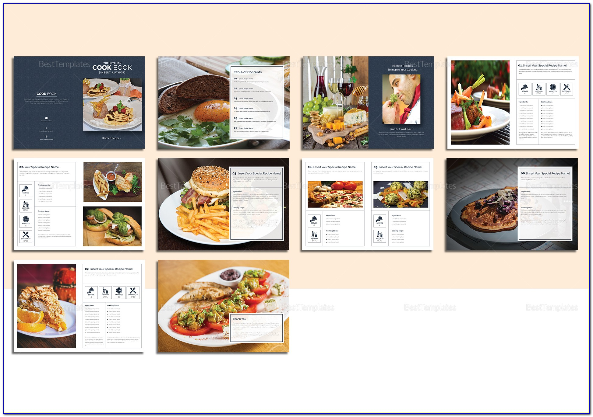 Word Cookbook Template Mac