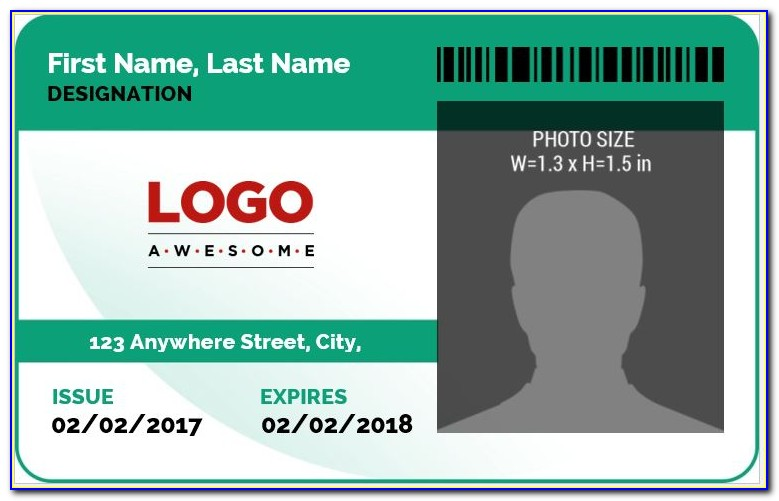 Work Id Badges Templates