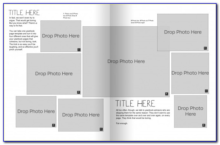 Yearbook Cover Templates