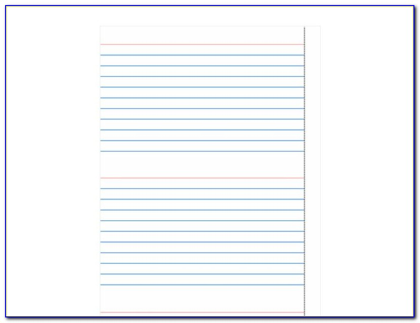 3x5 Index Card Template Microsoft Word 2018