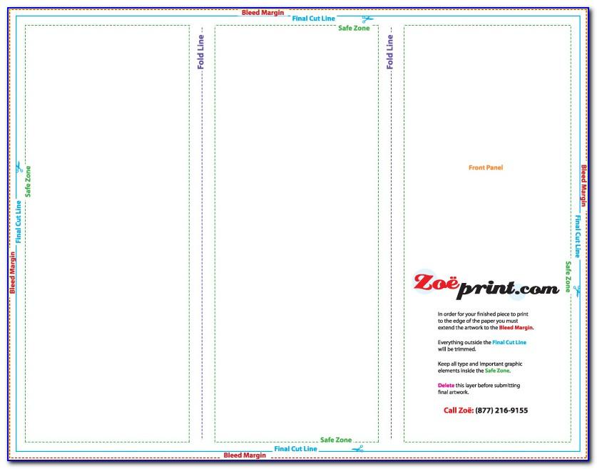 8.5x11 Tri Fold Brochure Template