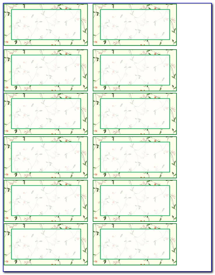 Address Label Templates 21 Per Sheet