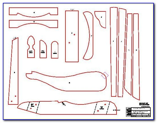 Adirondack Chair Templates With Plan