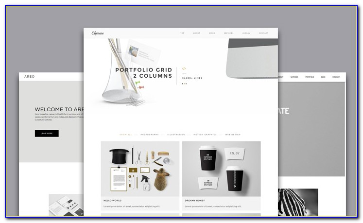 Adobe Muse Templates For Photographers