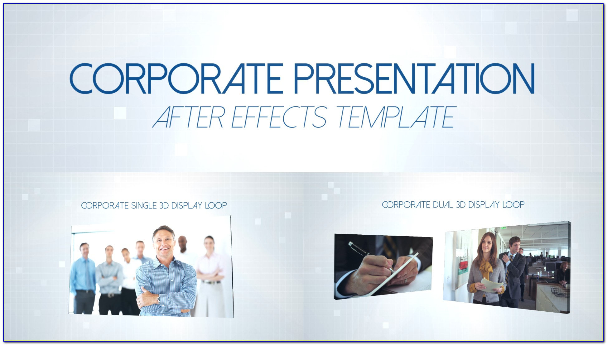 After Effects Slideshow Template Photos Gallery