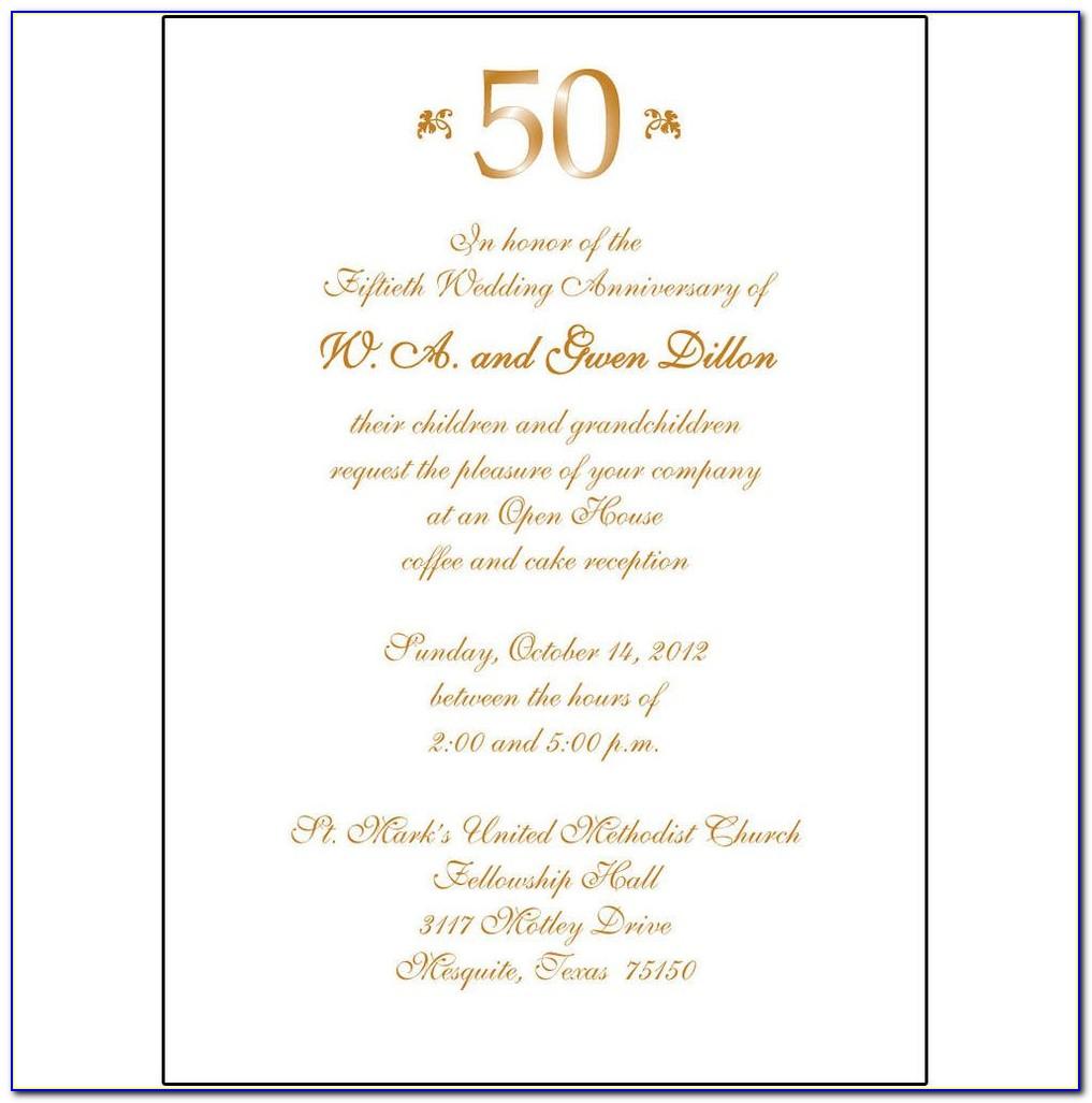 Anniversary Invitation Template Ai