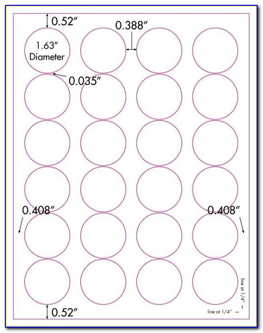 Avery 1 1 2 Inch Round Labels Template