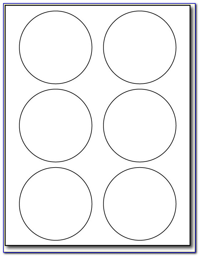Avery 2 1 2 Inch Round Labels Template