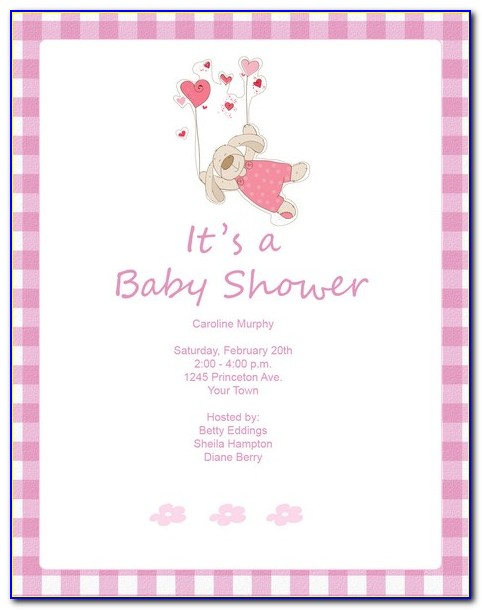 Baby Shower Invitations Templates Editable Boy