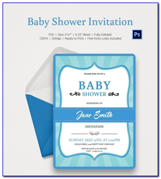 Baby Shower Invitations Templates Editable In Gujarati
