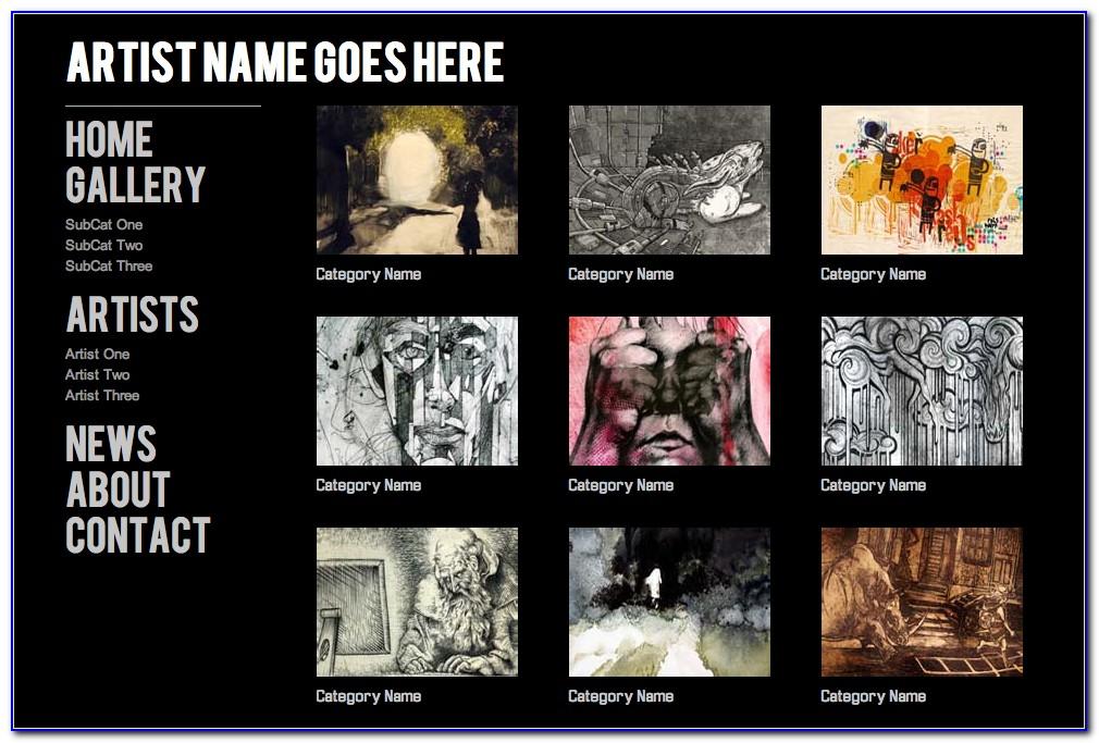 Best Art Gallery Website Templates