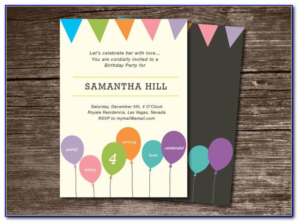 Birthday Banner Template Free