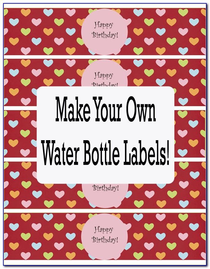 Bottle Label Template Psd Free
