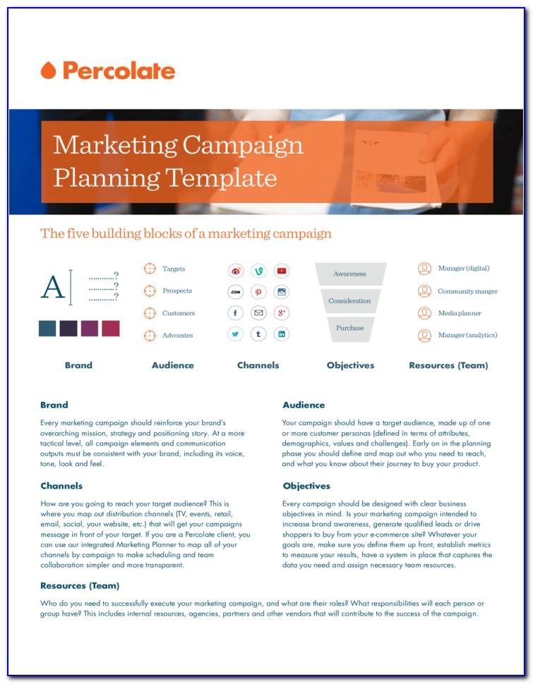 Capital Campaign Website Template