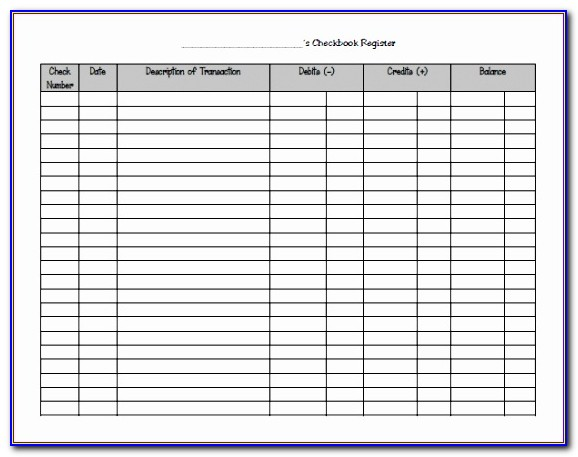 Microsoft Excel Check Register Template Bilpy Awesome 9 Excel Checkbook Register Templates Excel Templates