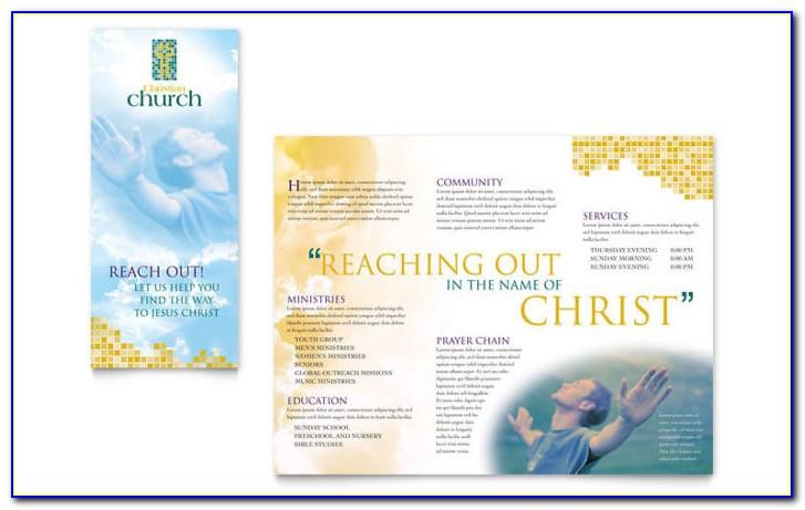 Church Bulletin Templates 8.5 X 14
