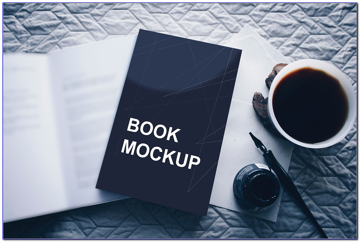 Coffee Table Book Template Photoshop