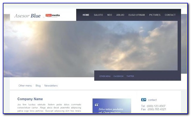 Drupal Responsive Website Templates