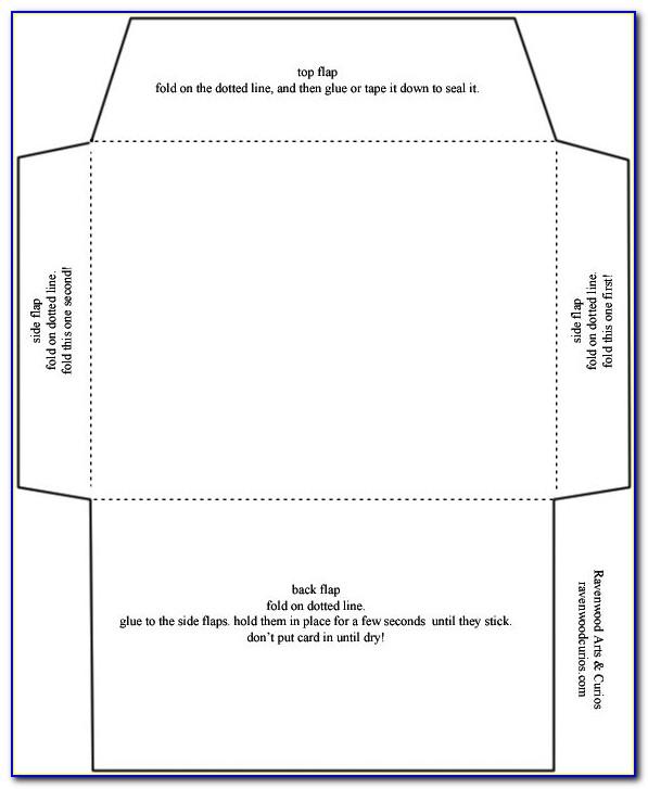 Envelope Size Invitation Template