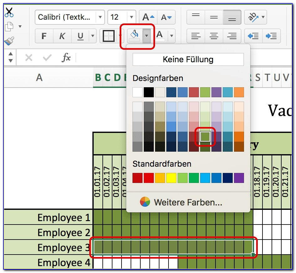 Excel Work Schedule Templates