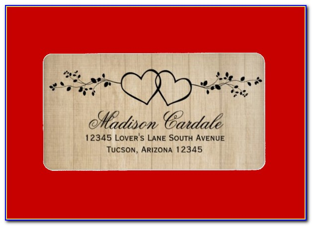Free Address Label Template